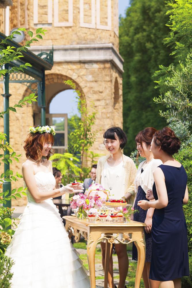 緑広がるナチュラルな空間でゲストとゆったりとした時間を   愛媛県西条市の結婚式場ベルフォーレ西条