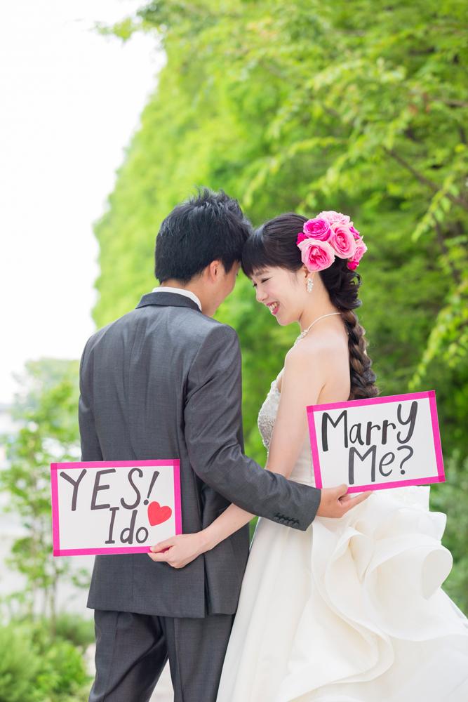 チャペル前でこんな素敵な演出はいかが?   愛媛県西条市の結婚式場ベルフォーレ西条