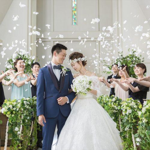 NEWコーデ「スイートグリーンチャペル」誕生! 花や木々を使ったナチュラルコーデは花嫁をより美しく際立たせてくれる