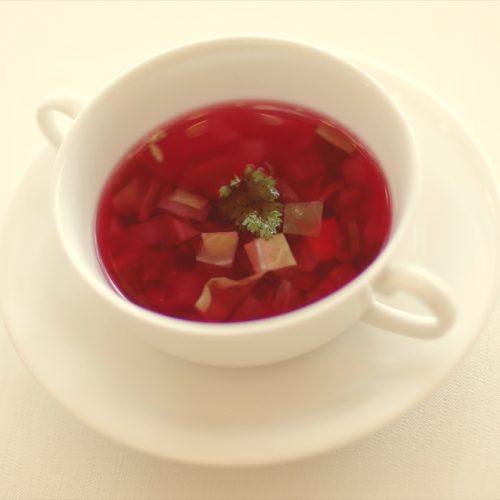 【スープ】深紅のボルシチ