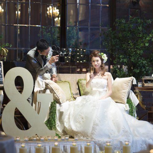 テーマはラスティックウエディング! 素朴で飾り気のない、温もりあふれる結婚式を
